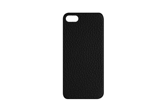 Coque iPhone 5/5s/SE Shrunkencalf (Noir)
