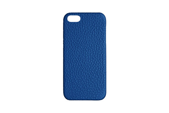 Coque iPhone 5/5s/SE Shrunkencalf (Bleu Topaz)