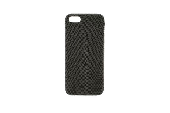 Coque iPhone 5/5s/SE Lézard (Noir)