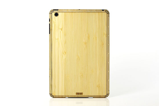 Sticker iPad Mini en bois (Bambou)