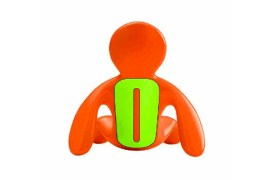 Mr and Mrs Fragrance Support pour tablette (Orange)