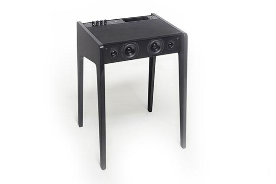 Enceinte bureau La Boite Concept LD120 Noir