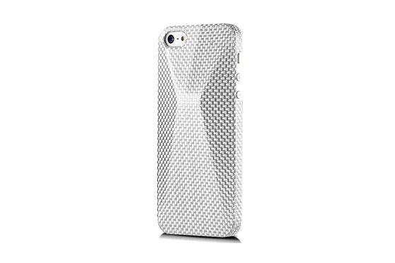 Coque iPhone 5 Peak Silver Luminous Argent