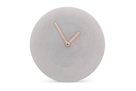 Wall Clock Concrete