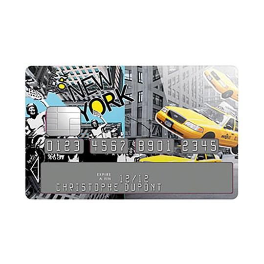 Sticker Carte Bleue New York District
