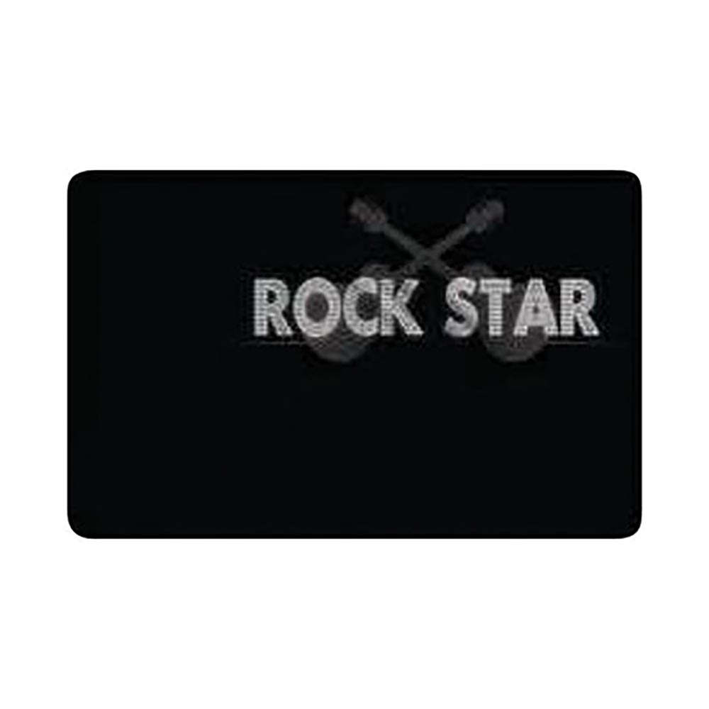Sticker Carte Bleue Rock Star