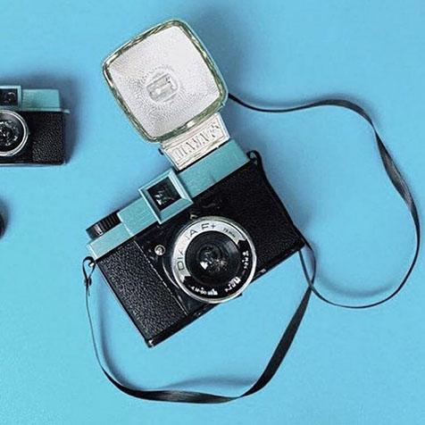 Pack Appareil Photo Diana Mini & Flash (Noir et Blanc) Lomography