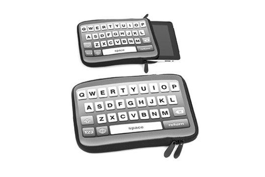 Housse balvi clavier Apple pour tablette (Noir)