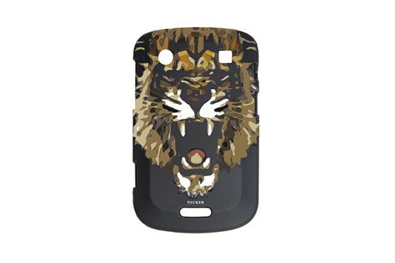 Coque BlackBerry Pauker Lion Noir