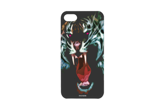 Coque iPhone 5/5S/SE Pauker TIGRE Noir