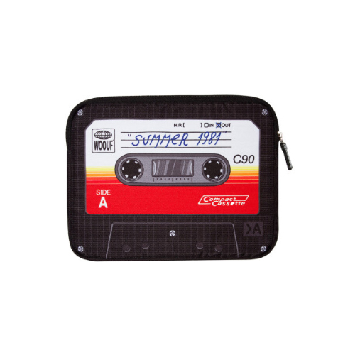 Housse iPad Mini Cassette Woouf