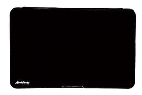 "Coque convertible noire pour MacBook Air 13"" Hard Candy"