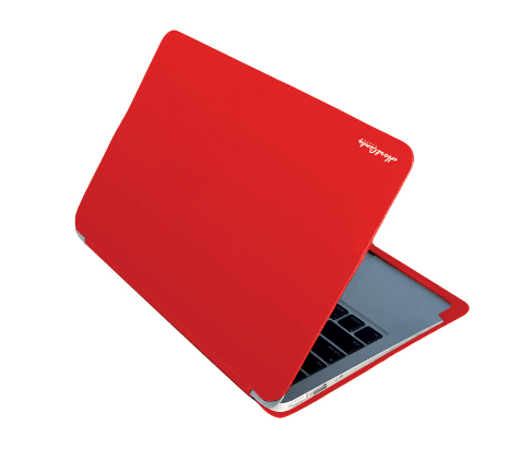 Coque convertible rouge pour MacBook Air 13″ Hard Candy