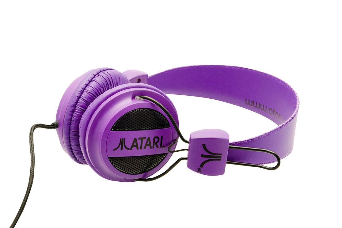 Casque Atari (Violet)