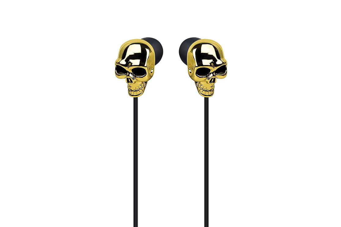 Ecouteur Merkury Skull (GOLD)