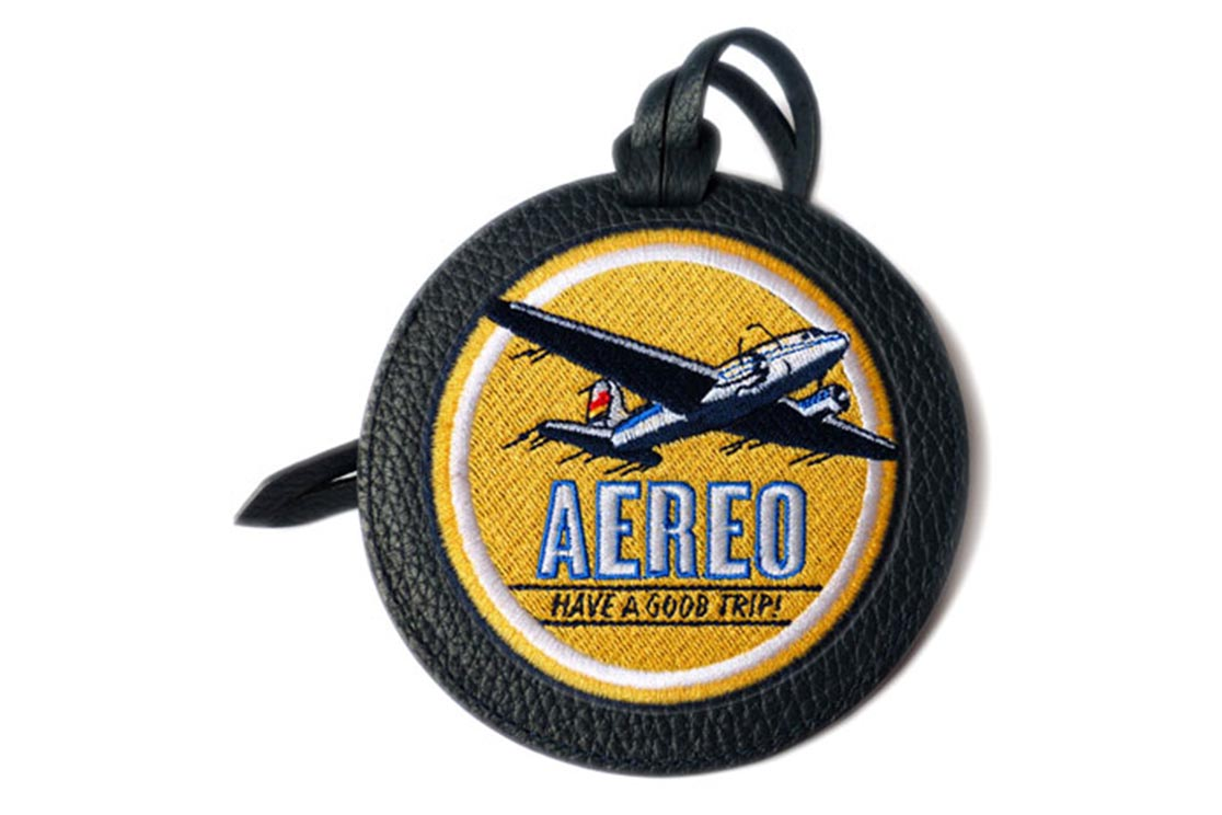 LUGGAGE TAG VOYAGEUR AVION