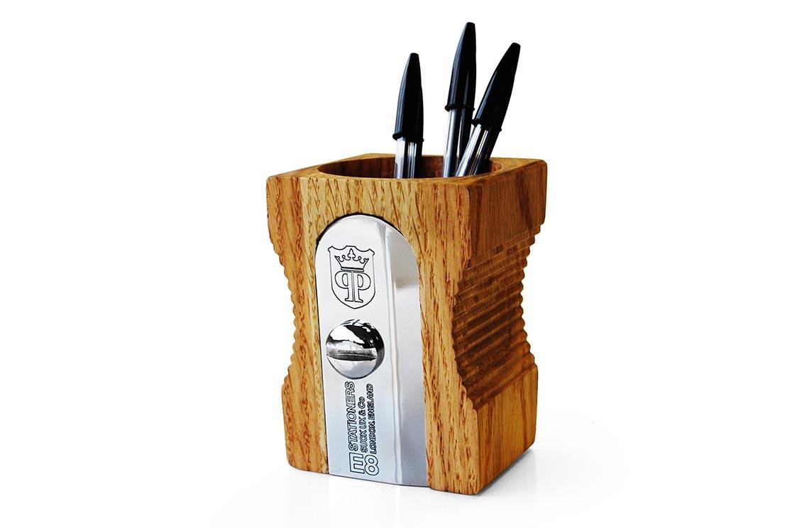 Pot à crayons 'Taille-Crayons'