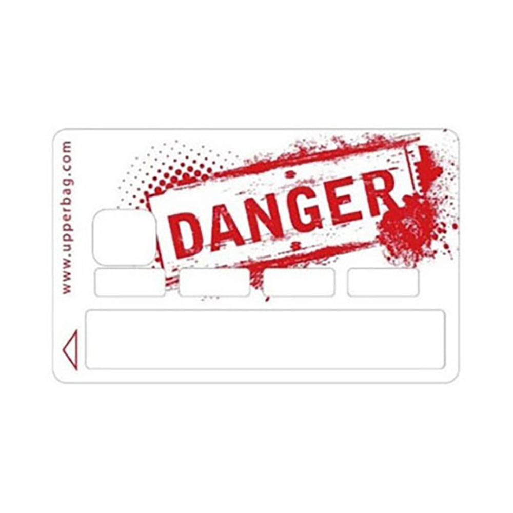 STICKER CB DANGER 1