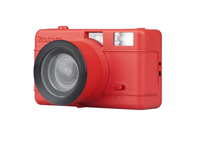 Appareil Fisheye Compact Camera (Rouge) LOMOGRAPHY