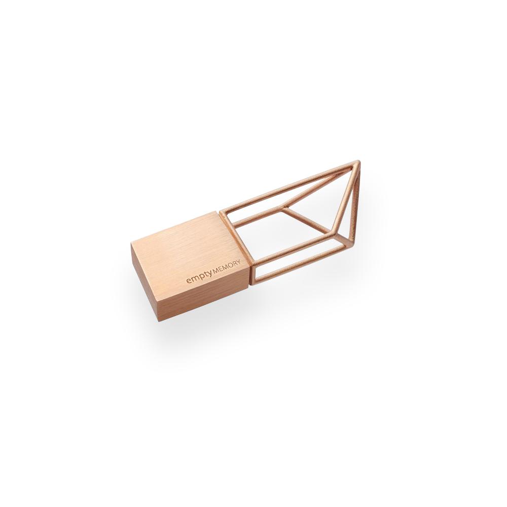 Clé USB 8 GO STRUCTURE BEYOND OBJECT (DORE)