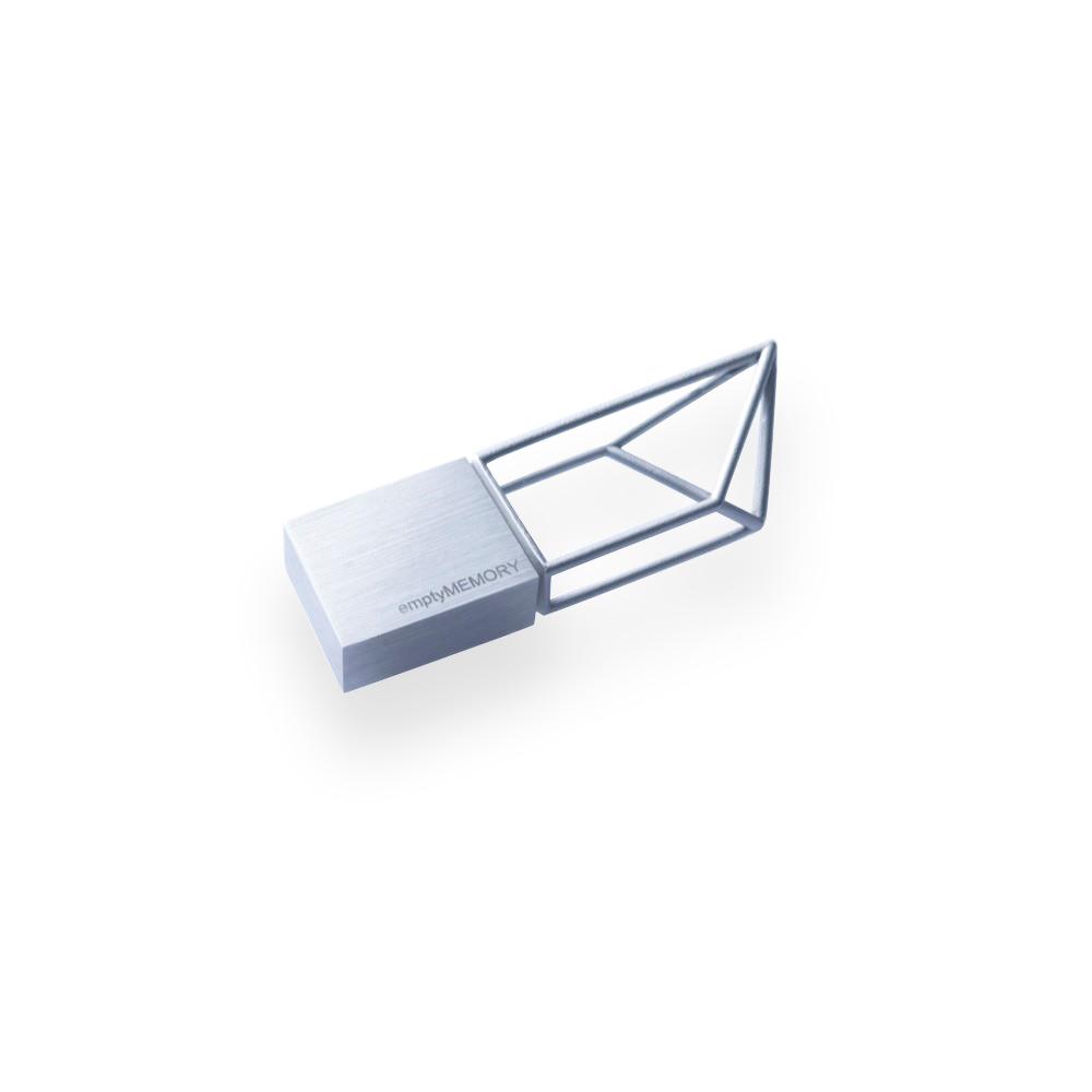 Clé USB 8 GO STRUCTURE BEYOND OBJECT (ARGENT)