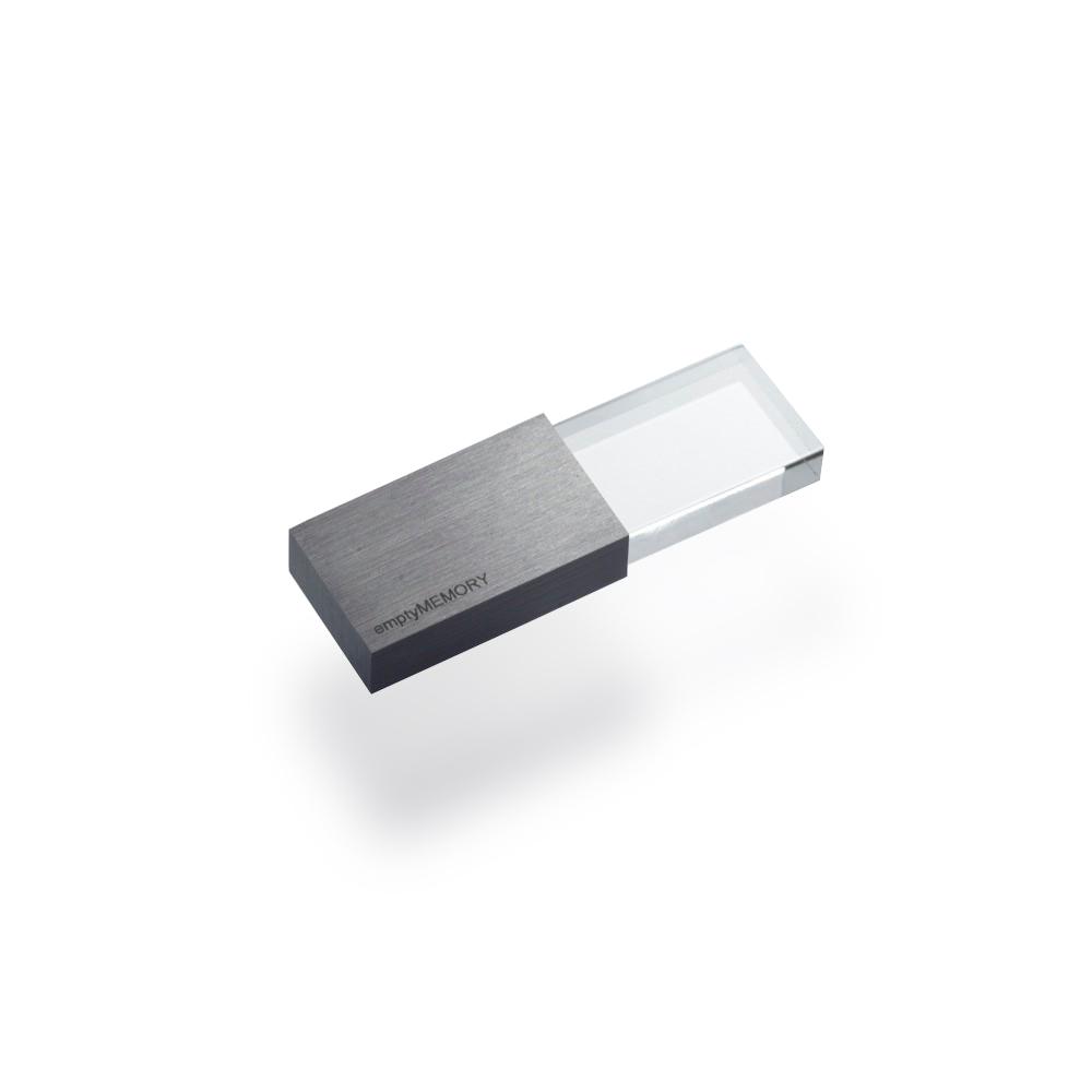 Clé USB 8 GO TRANSPARENCY BEYOND OBJECT (NOIR)