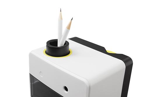 Taille crayon électrique blanc
