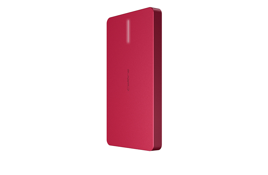 BATTERIE EXTERNE ULTRAGO DUO 6000 MAH (ROUGE)