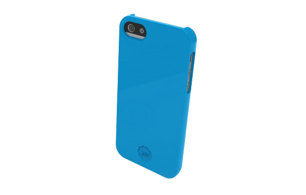 Slim Hard Case Bleu pour iPhone 5
