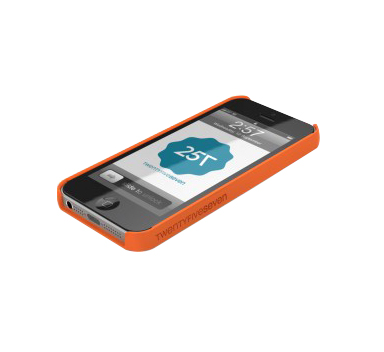 Slim Hard Case Orange pour iPhone 5