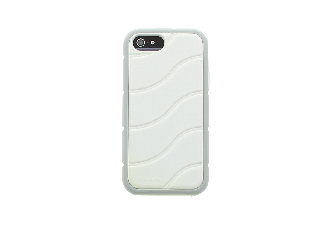 Coque Shockwave XtremeMac Blanche pour iPhone
