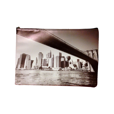 "Housse pour ordinateur 11"" Brooklyn Bridge Destroy Pop"