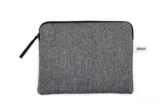 Housse Zippée iPad Air Pijama (Chevrons gris)