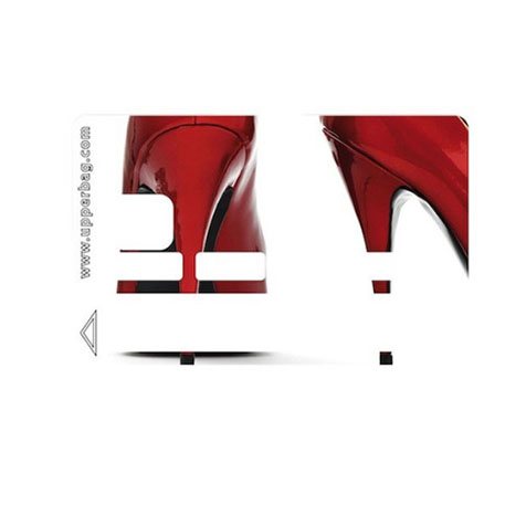 Sticker CB Chaussures rouges