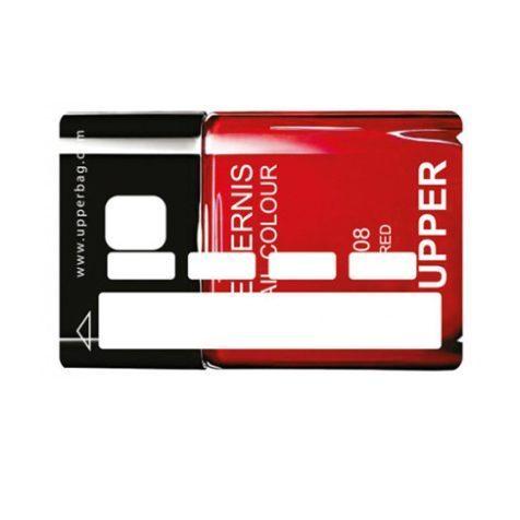Sticker CB Girly Vernis rouge