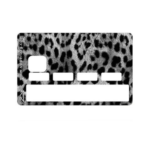 Sticker CB Jungle Leopard (Gris)