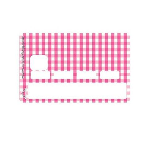 Sticker CB Vichy Pink