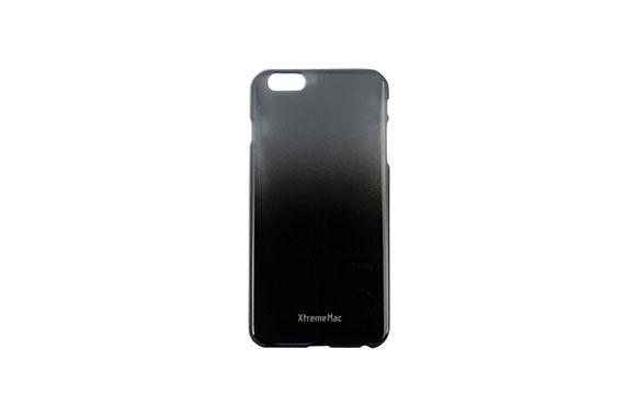 Coque XtremeMac Noir et Gris Microshield pour iPhone 6+