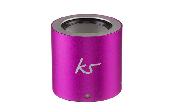 Enceinte portable Button KitSound (Rose)