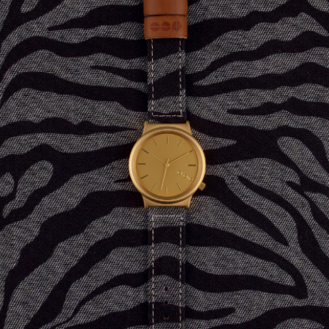 Montre Komono Wizard Denim Zèbre