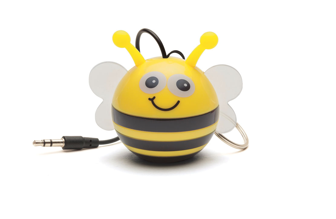 Enceinte KitSound Mini buddy Abeille