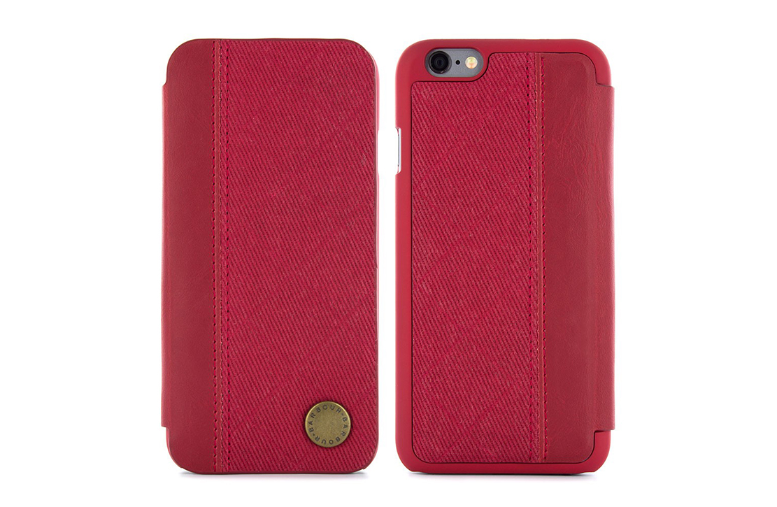 Coque Barbour Rouge pour iPhone 6