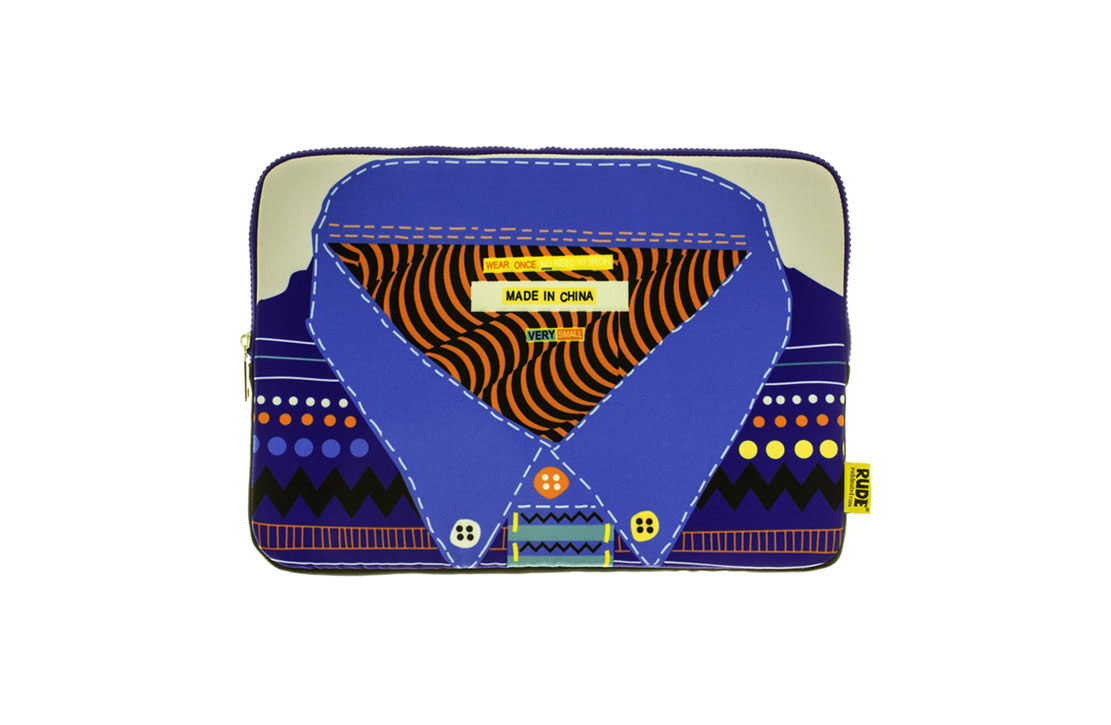 Pochette Rude Londres Shirt 13""