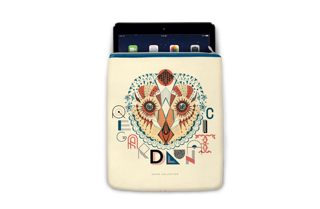 Housse Super Collection Hibou iPad
