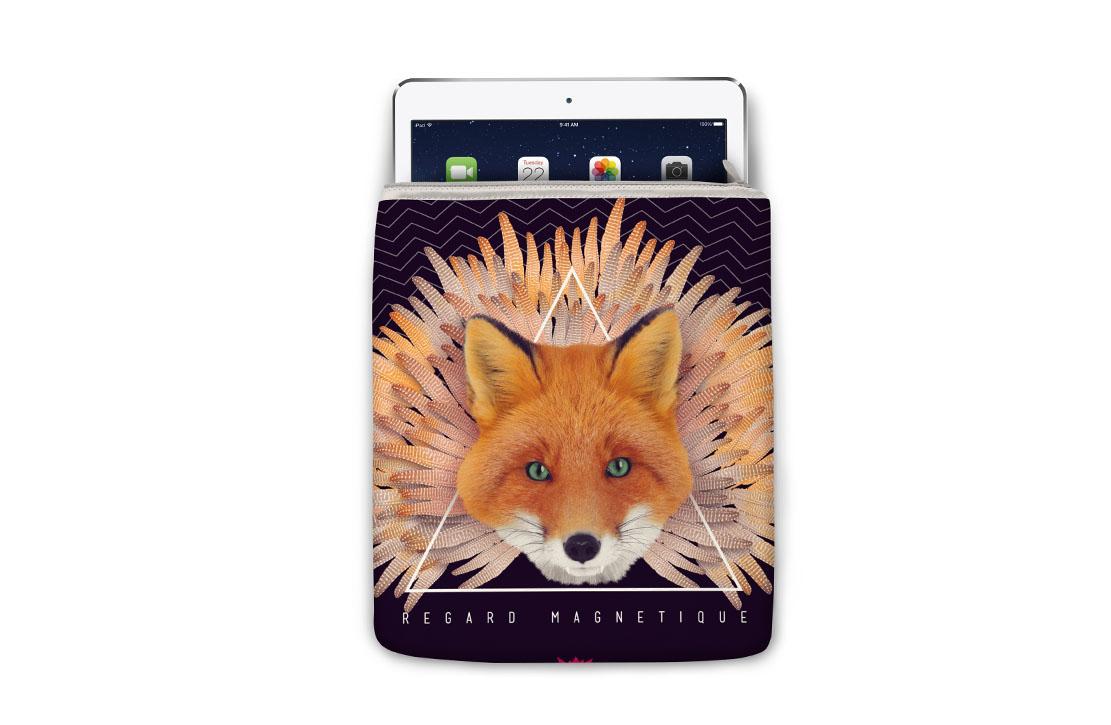 Housse Super Collection Renard iPad