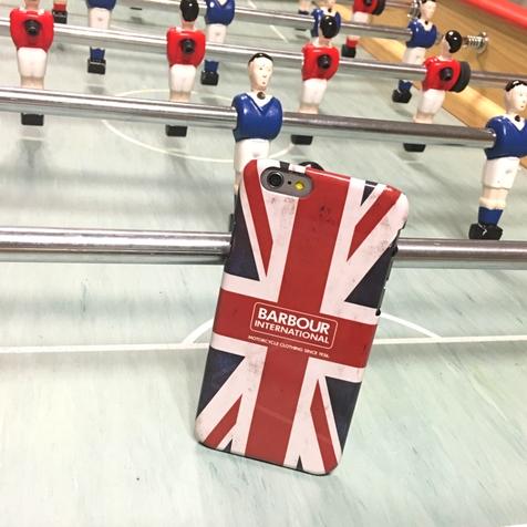 Coque Barbour Motif Union Jack pour iPhone 6