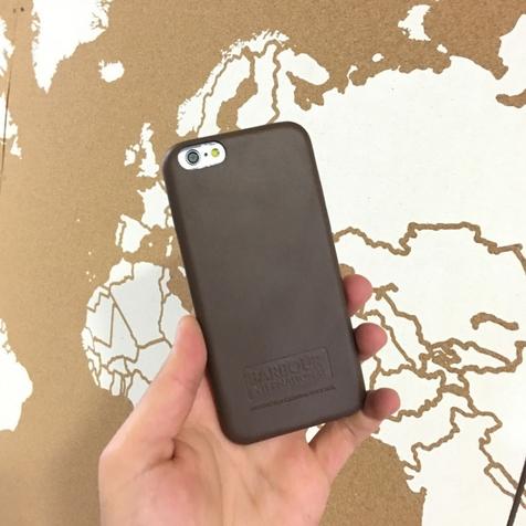 Coque Barbour Marron pour iPhone 6