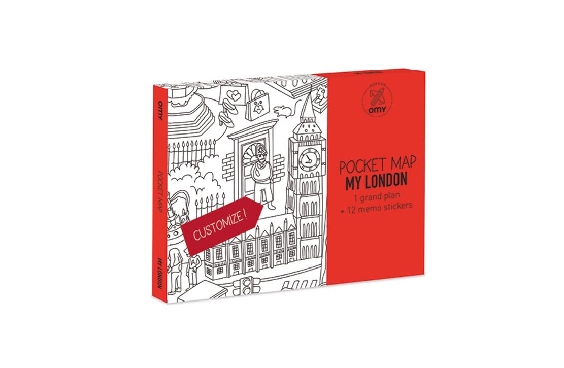 pocket map My Londres OMY