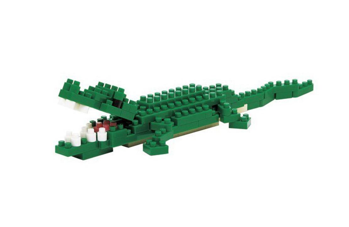 Nanoblock Crocodile