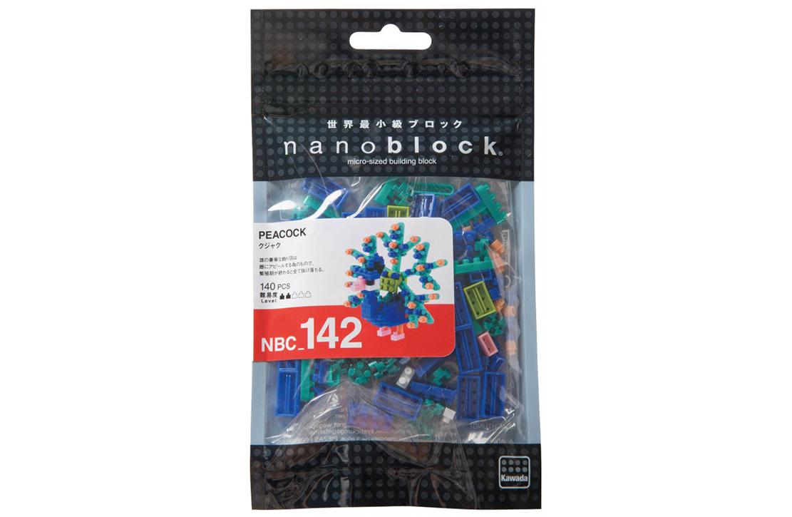 Nanoblock Paon